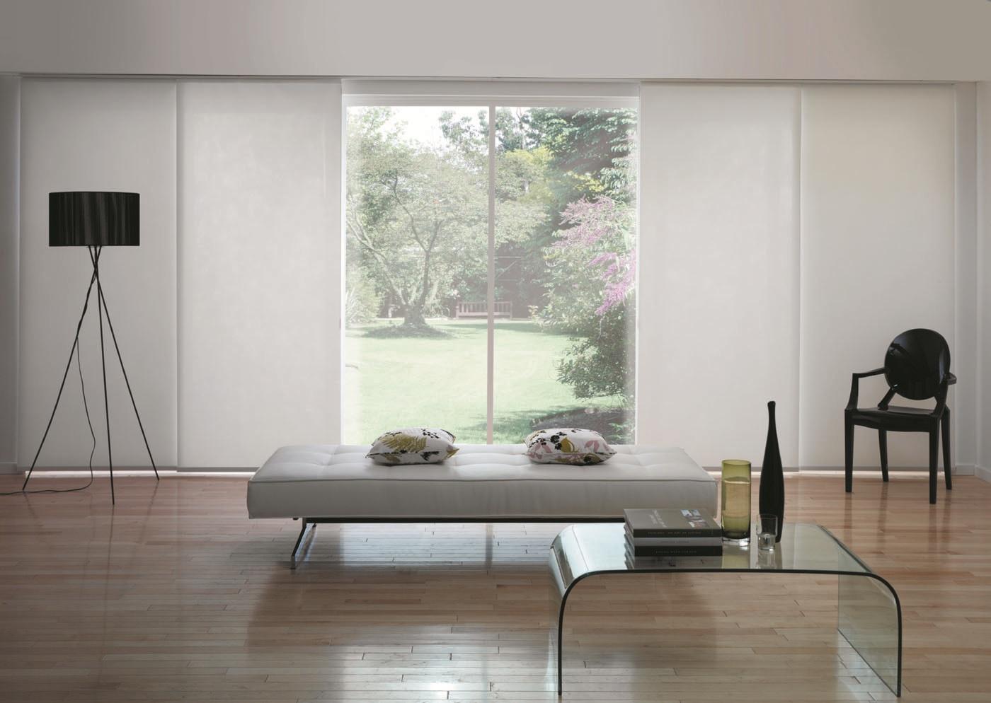 Tende Per Finestre Scale tende a pannello per finestre e porte finestre a milano